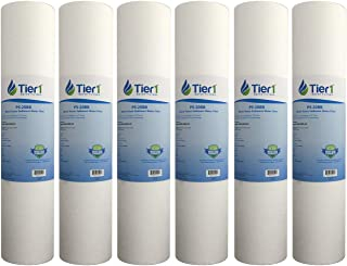 Tier1 Replacement for Hydronix DGD-5005-20 SDC-45-2005 5 Micron 20 x 4.5 Spun Wound Polypropylene Water Filter 6 Pack