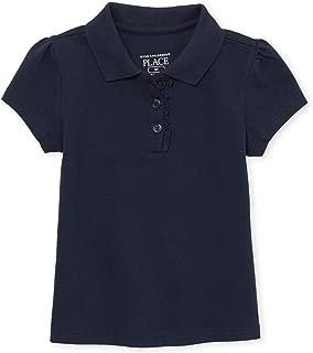 The Children's Place Big Girls' Short Sleeve Uniform Polo