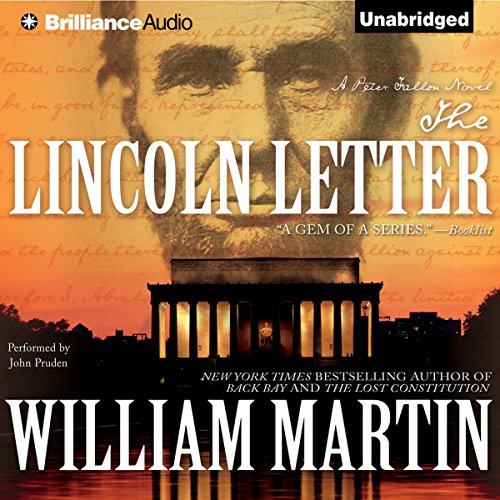 The Lincoln Letter audiobook cover art