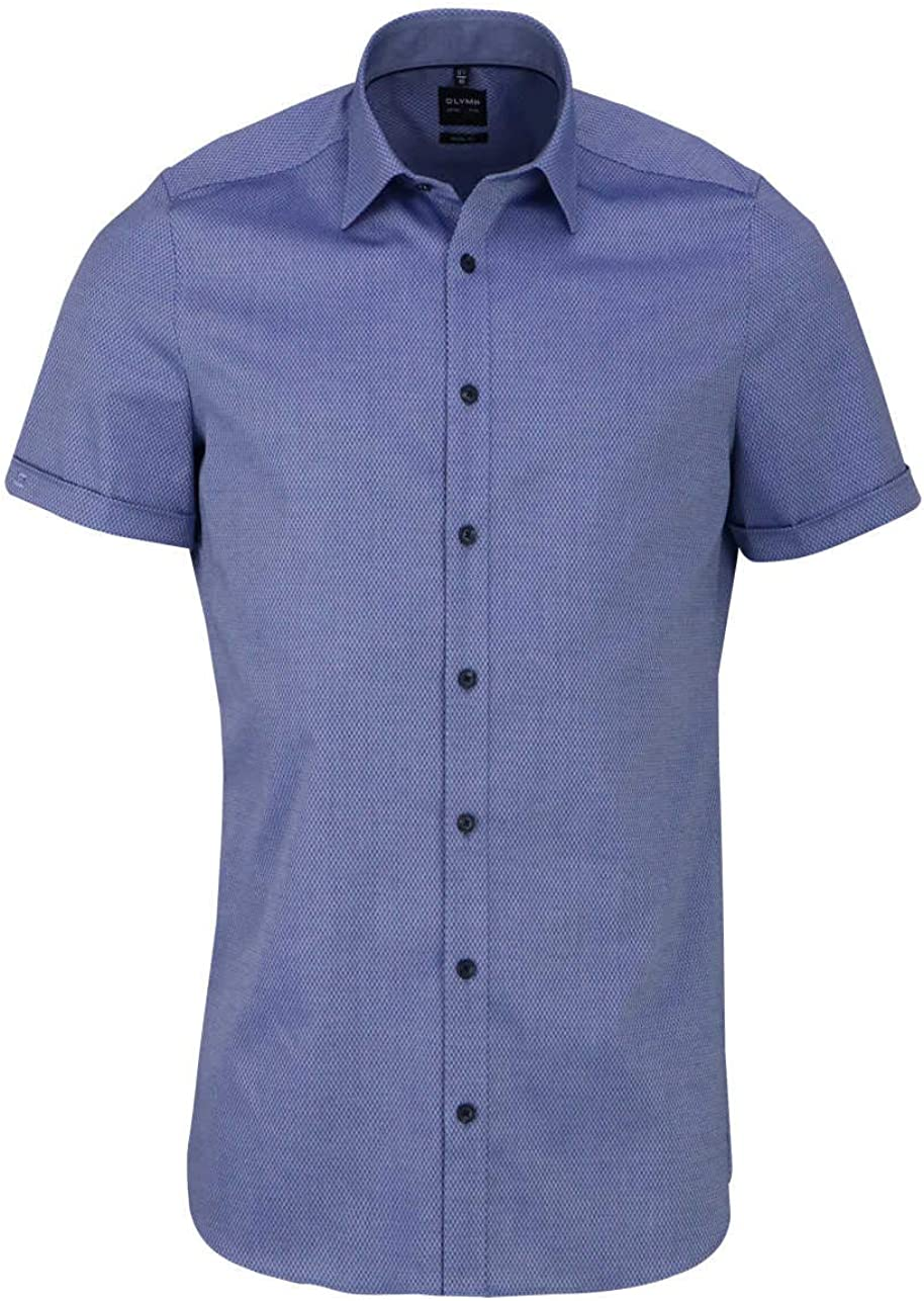OLYMP 2052/52 Camisa Azul ahumado. 42: Amazon.es: Ropa y ...
