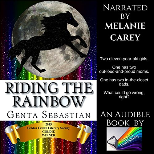 Riding the Rainbow audiobook cover art