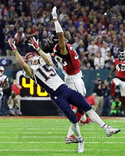 Amazon.com: Chris Hogan New England Patriots Super Bowl LI 8x10 ...
