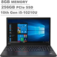 "2020 Lenovo ThinkPad E15 15.6"" FHD Full HD (1920x1080) Business Laptop (Intel 10th Quad Core i5-10210U, 8GB DDR4 RAM, 256G..."