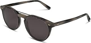 | Sunglasses | Designer Scandinavian Eyewear | Round Acetate and Metal Frame