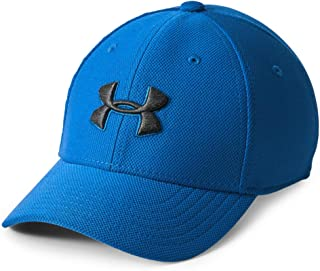Under Armour Boy's Blitzing 3.0 Cap, Royal (400)/Black, Youth X-Small/Small