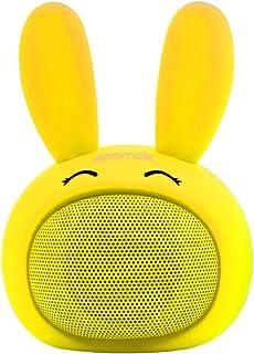 مكبر صوت برومايت كيدز بلوتوث، لاسلكي محمول بتقنية البلوتوث 4.1 مع جودة صوت عالية اتش دي، خاصية اتصال حر بتصميم ارنب لطيف ل...