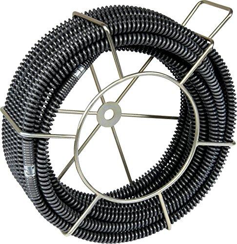 5 x Rohrreinigungsspirale Ø 16mm mit Kern (SMK) im Tragekorb von ROWO