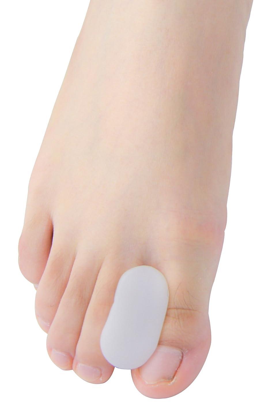 カニ中絶相互接続Povihome 足指衝撃ストッパー, 足指セパレーター,外反母趾 サポーター 矯正 バニオン 5ペア,柔らかゲルでやさしくサポート(M)