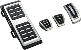Walmeck MT Aluminum Aotomatic Fuel Brake Foot Rest at Pedals for VW Golf 7 VII GTI MK7 Audi A3 Left Driving Country