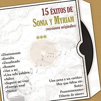 15 Éxitos de Sonia y Myriam (Versiones Originales)