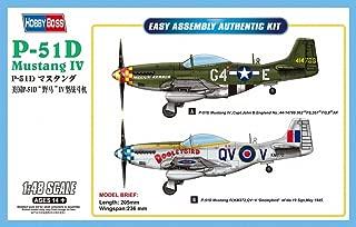 Hobby Boss Easy Assembly P-51D Mustang IV Airplane Model Building Kit