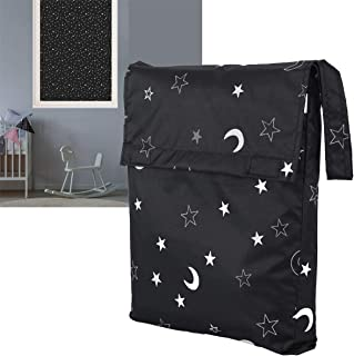 LIFEI [Upgraded] Portable Blackout Shades, Travel Blackout Curtains, Temporary Blackout Blinds, Clever Window Blackout Sol...