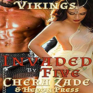 Invaded by Five: Viking Horde Menage cover art