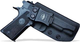 IWB Kydex Holster Colt 1911 Commander .45 9mm 4.25 4.5 Inch Concealed Carry - IWB 1911 Commander Holster - Concealed 1911 Holster IWB - Kydex IWB Holster 1911 - Cover Mag-Button, No Wear, No Jitter