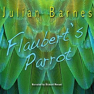 Flaubert's Parrot audiobook cover art