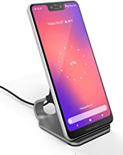 Encased LG V50 ThinQ, LG V40 ThinQ Wireless Charger Stand (2018) Case Friendly Aluminum Desktop Charging Qi Pad w/Cable