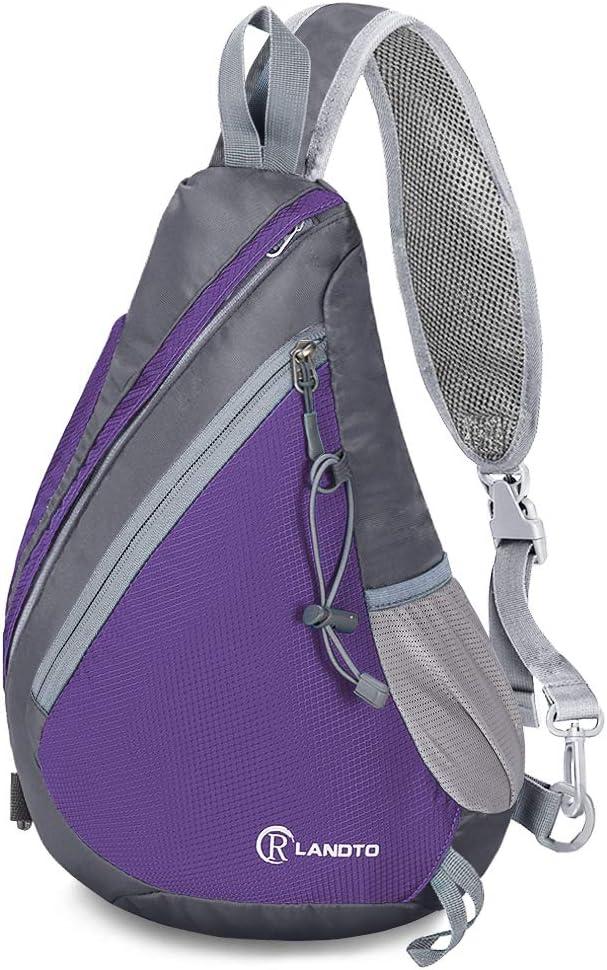 ZOMAKE Sling Backpack Crossbody Bag Max 49% OFF Miami Mall Hiking D Shoulder Travel