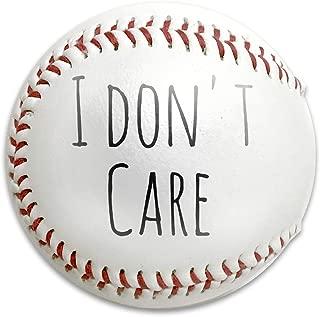 White I Don't Care ファイアKOSHI 軟式野球 野球練習ボール ホワイト 公認球 練習用 子供用 初心者 親子