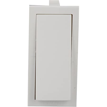 Anchor Roma 1-Way Switch 21066, White, 20 amp 240V