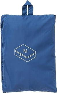 MUJI Gusset Case, Blue - Medium/26 x 40 x 10cm