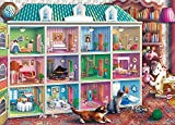 Jigsaw Puzzles for Adults 1000 Piece Dollhouse Puzzle Game for Adults,Educational Fun Jigsaw