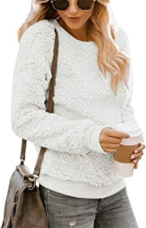 Shallood Maglione Donna Maglioni Inverno Pullover Donna Eleganti Casual Moda Girocollo Tops Autunno Inverno Jumper Caldi L...