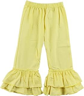 cotton ruffle pants