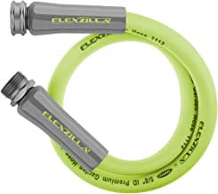 Flexzilla Garden Lead-in Hose, 5/8 in. x 3 ft, Heavy Duty, Lightweight, Drinking Water Safe - HFZG503YW
