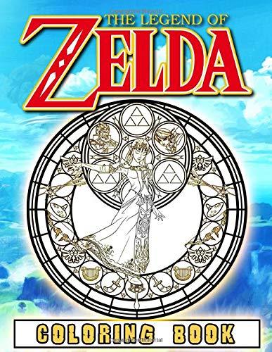 Legend Of Zelda Coloring Book: Legend Of Zelda Impressive An Adult Coloring Book (Unofficial)