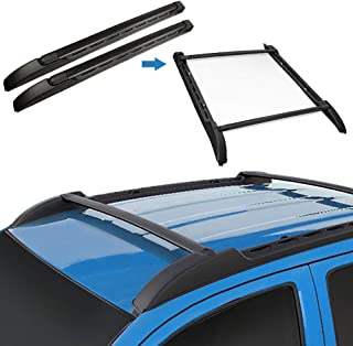 TRIL GEAR Roof Top Rack Cargo Luggage Carrier Set OE Style for 2005-2019 Toyota Tacoma Double Cab