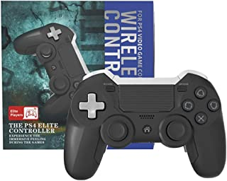Zamia PS4 Elite Controller with Back Paddles, 6 Axis Sensor Modded Custom programmable Dual Vibration Elite PS4/PC Wireles...