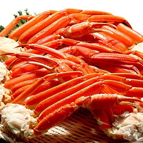 【超早割】 「先行予約」 年末年始用 天然 ズワイガニ 足 贈答にも最適 ずわい蟹 カニ 約3kg 予約品 12月29日(水)到着