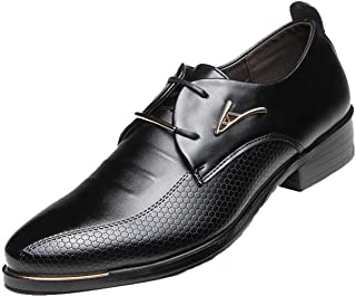 94263628b8b28 DADAWEN Hommes d'affaires Britanniques Pointu-Toe Chaussures Oxford Quatre  Saisons Chaussures
