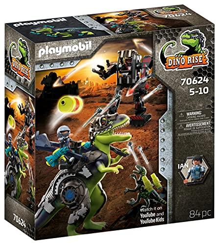 PLAYMOBIL Dino Rise 70624 Gefecht der Giganten:...