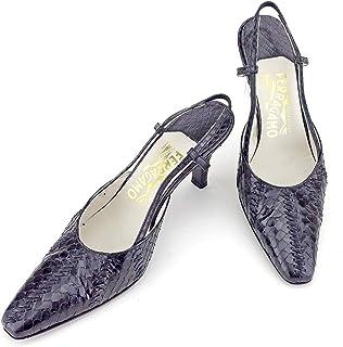 [サルヴァトーレ フェラガモ] パンプス シューズ 靴 レディース #6ハーフ パイソン L2756