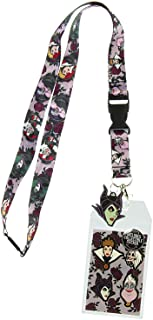 Disney Villains Lanyard with ID Holder and Rubber Charm