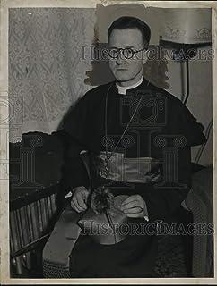 Historic Images 1936 - Foto de prensa clásico de John Omán, invertida en la catedral de San Nicolás