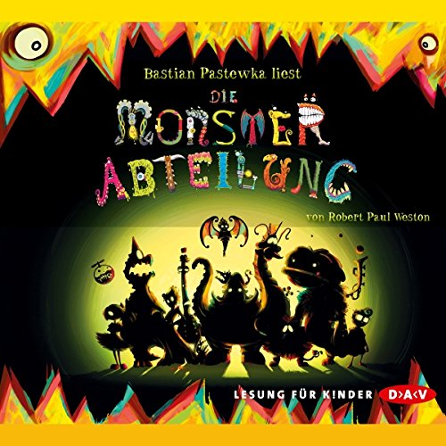 Monsterabteilung audiobook cover art
