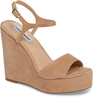 6658fd3a014 Amazon.com  Steve Madden Women s Wedge   Platform Sandals