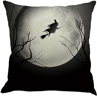 Rambling Creative Happy Halloween Pillow Cases Linen Sofa Cushion Cover Home Decor 18