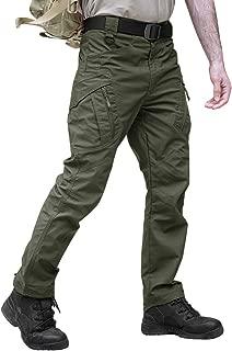 TACVASEN Men's Tactical Cargo Pants Outdoor Sport Military Ripstop Pants