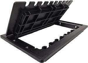 7 X 10 Hinged Access Door Grommet-Black