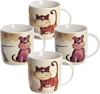 Juego Tazas de Café, Tazas Desayuno Originales de Té Café