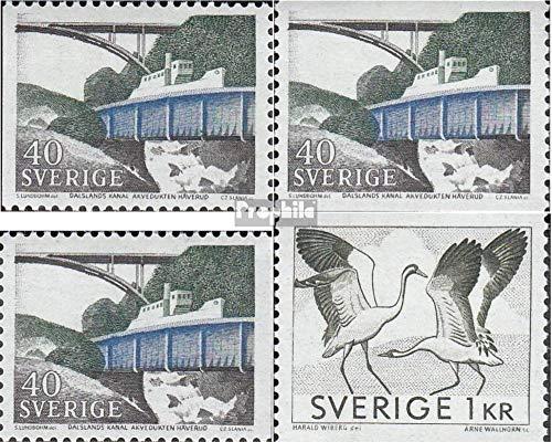 Zweden Mi.-Aantal.: 599A,Dl,Dr,600A (compleet.Kwestie.) 1968 Postzegels (Postzegels voor verzamelaars) vogels