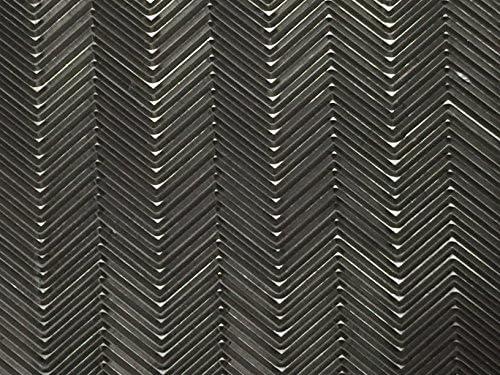 24 Iron, 13mm, 1//2, Black 18 x 36 SoleTech Diamond 50-55 Durometer Soling Sheet