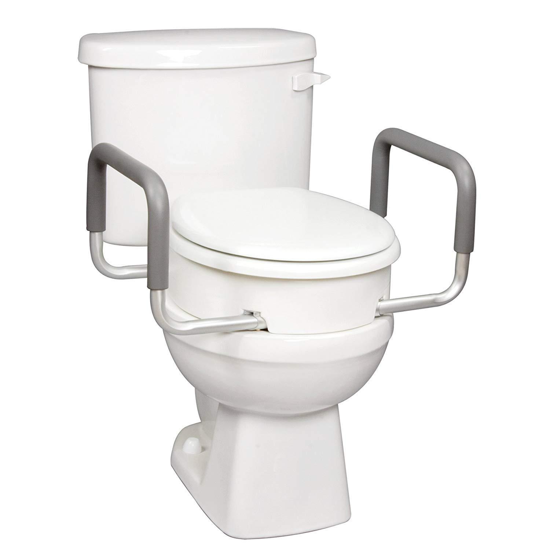 Carex Raised Toilet Seat Handles