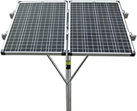 top of pole mount solar panel