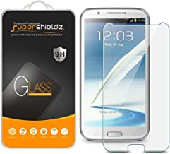 (2 Pack) Supershieldz for Samsung Galaxy Note 2 (N7100) Tempered Glass Screen Protector, Anti Scratch, Bubble Free