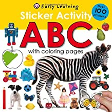 Sticker Activity ABC: Over 100 Stickers with Coloring Pages (Sticker Activity Fun) PDF