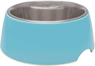 Loving Pets Retro Bowl for Dogs, Electric Blue, Large (7137)
